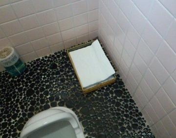 トイレ 和式 ちり紙