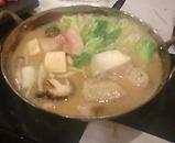 新橋 なべや 豚水炊き 味噌