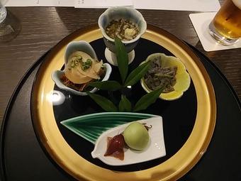 銀座の金沢 コース 前菜