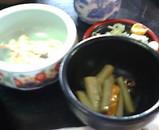 新潟 十日町 名代生そば 由屋(よしや) 小鉢