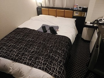 アパホテル APAホテル 東梅田南森町駅前 ベッド