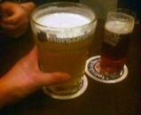 渋谷 CATARATAS  ベルギービール ヒューガルデン Hoegaarden