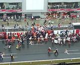 F1 撤収