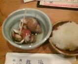 新橋 舞浜 お通し ばい貝