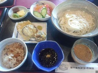 新千葉カントリー倶楽部 昼飯