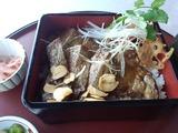 太平洋 美野里コース ランチ ステーキ丼