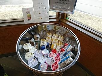 ザロイヤルゴルフ The ROYAL 売店 茶店 オハヨー乳業