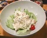 魚金 新橋 大根サラダ