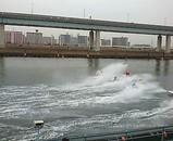 江戸川競艇場 落艇