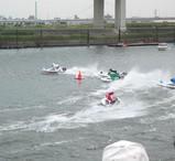 江戸川競艇 第一ターン