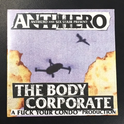 """THE BODY CORPORATE"" / ANTIHERO NEW DVD"