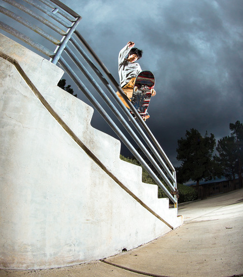 YUTO HORIGOME / The Skateboard Mag