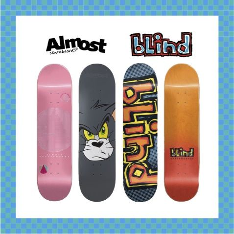 NEW ARRIVAL / ALMOST&BLIND