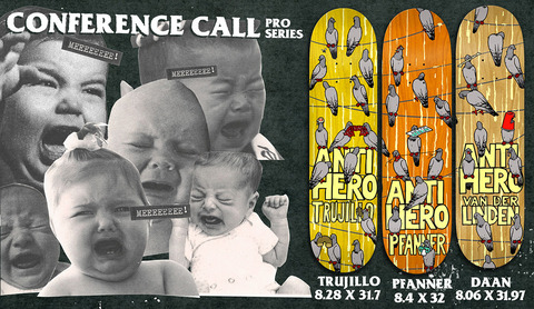 NEW ARRIVAL / ANTIHERO SKATEBOARDS