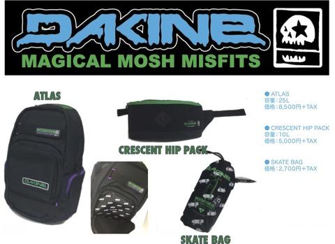 MAGICAL MOSH MISFITS × DAKINE