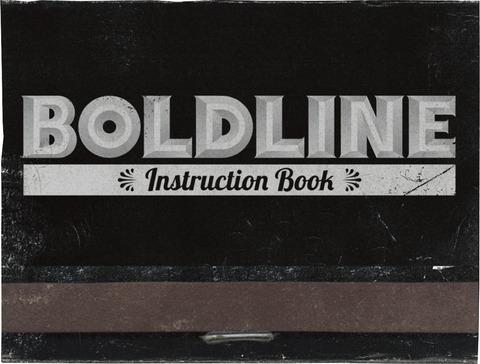 BOLDLINE / INSTRUCTION BOOK