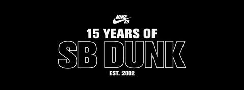 15 YEARS OF SB DUNK