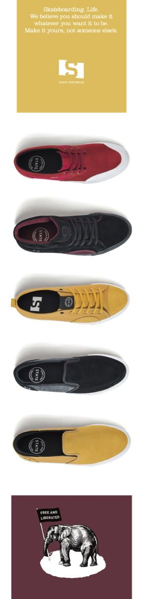 STATE FOOTWEAR 2018 HOLIDAY