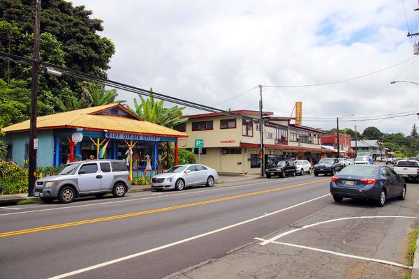 ハワイ島の長閑なローカルタウン 1