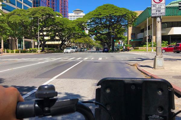 ハワイのレンタル自転車BIKIはとても便利 7