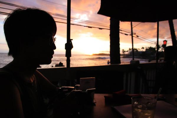 ハワイ アイランドラヴァジャヴァ ディナー 4