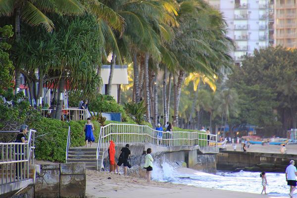 ある日の朝散歩からのハワイアンアロマカフェ 4
