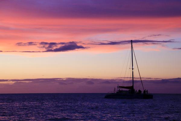 ハワイ ワイコロア サンセット 9
