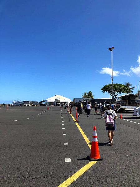 コナ国際空港3