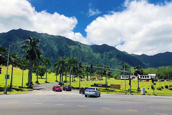 カネオヘウインドワード ハワイの平等院 1