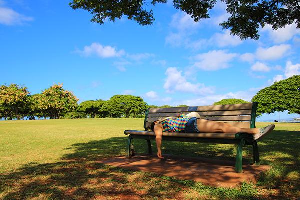 アラモアナビーチマジックアイランド散策 6