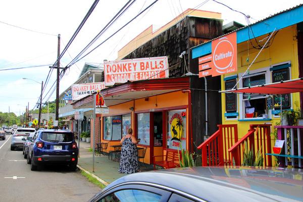 ハワイ島の長閑なローカルタウン 8