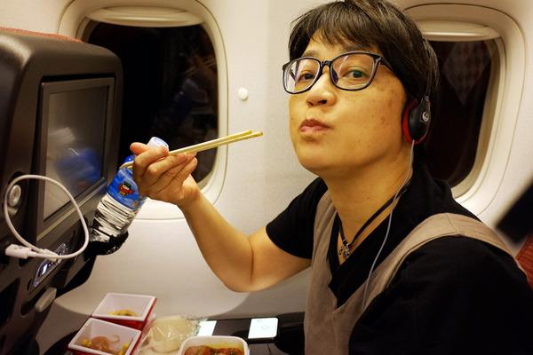 JALハワイ線機内食9