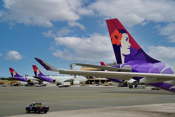 ハワイアン航空関空からの直行便が再開