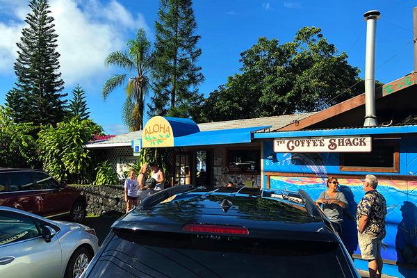 コーヒーシャックの朝食はハワイ島一番 1