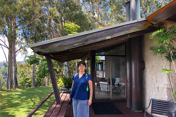 ハワイ オシポフの建築リジェストランド邸 12