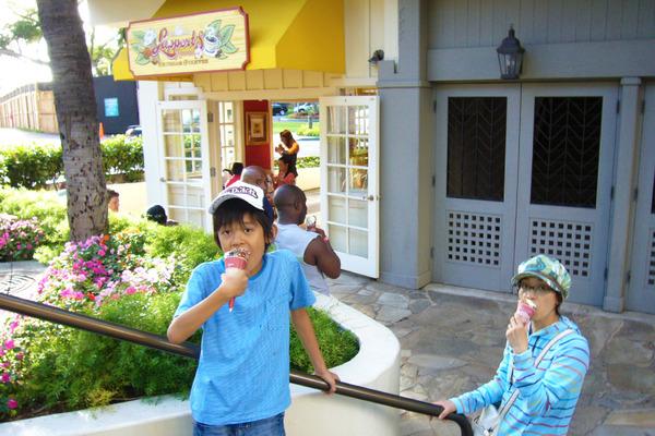 ハワイで一番好きなアイスクリームラパーツ 2