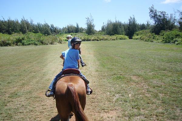 ハワイで乗馬はマストです 2