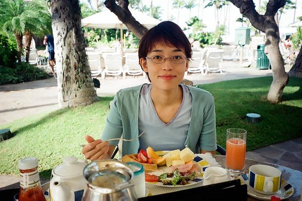 あのころハワイホテルのレストランで朝食 2