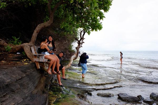 ハワイオアフ島ポートロックの秘密のベンチ 4