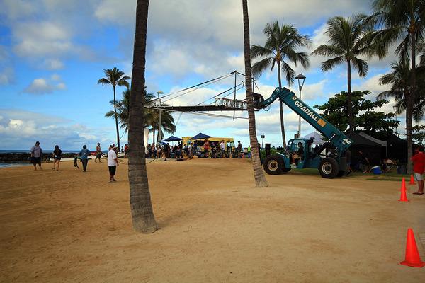 ハワイファイブオーHAWAII FIVE-Oの撮影に遭遇 1