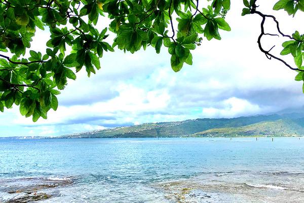 ハワイオアフ島ポートロックの秘密のベンチ 6