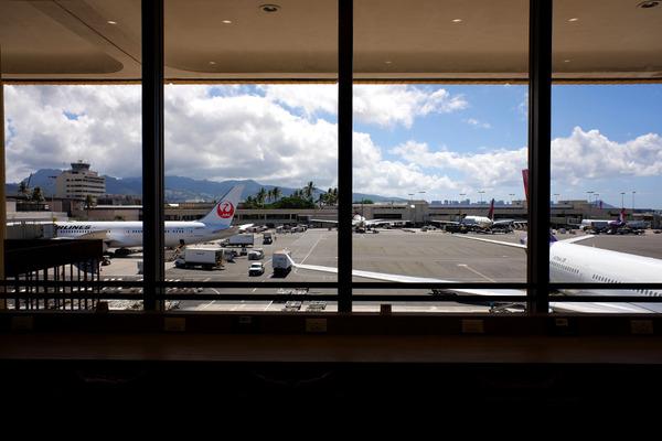 JALホノルル空港サクララウンジハレ 6