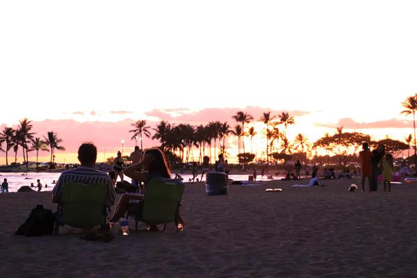 ワイキキビーチサンセットは素敵な空間 7