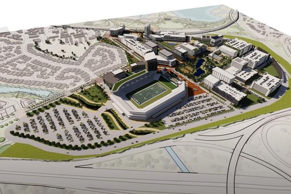 アロハスタジアムの再開発案3