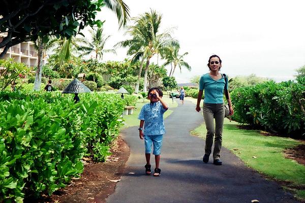 あのころハワイ初ハワイ島はワイコロアリゾートホテル  6