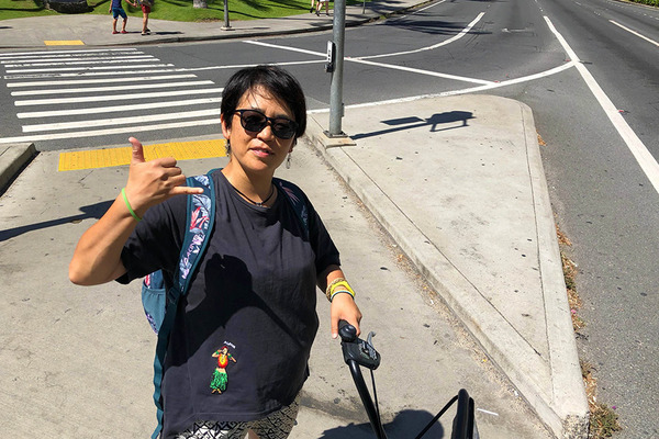 ハワイのレンタル自転車BIKIはとても便利 6