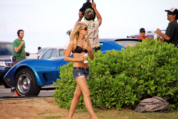 ハワイファイブオーHAWAII FIVE-Oの撮影に遭遇 3
