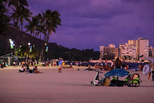ワイキキビーチサンセットは素敵な空間 8