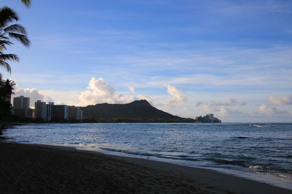 ある日の朝散歩からのハワイアンアロマカフェ 1