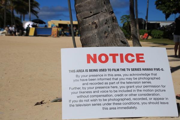 ハワイファイブオーHAWAII FIVE-Oの撮影に遭遇 5